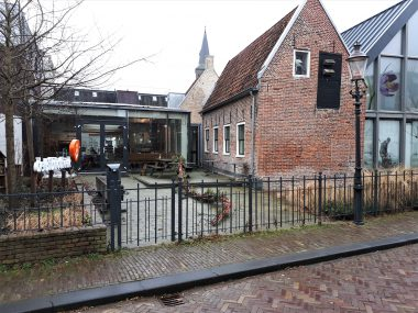Bakkerij Van der Woude Zwartsluis, de Sluuspoort, Museum Schoonewelle